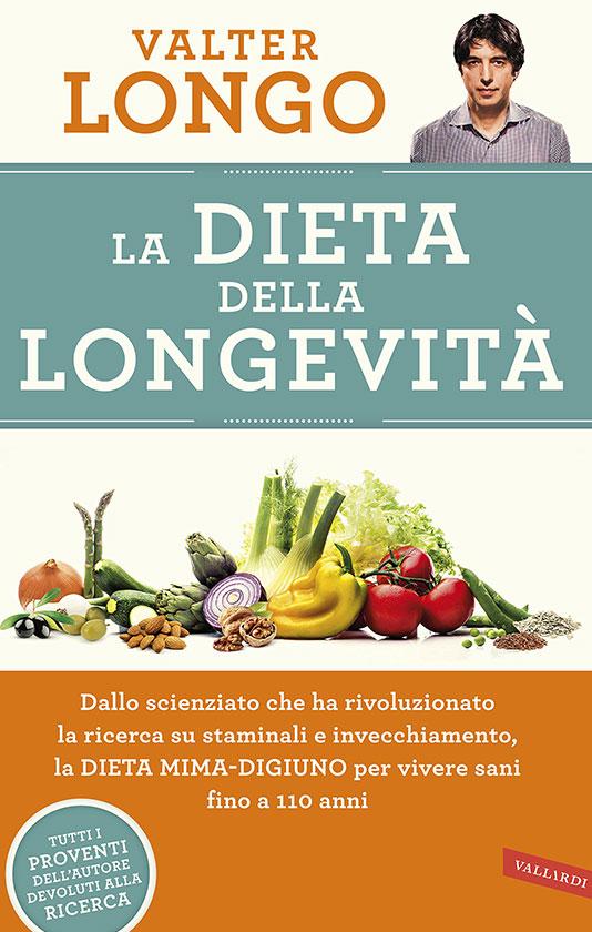 Libro consigliato: La dieta della longevità di Valter Longo